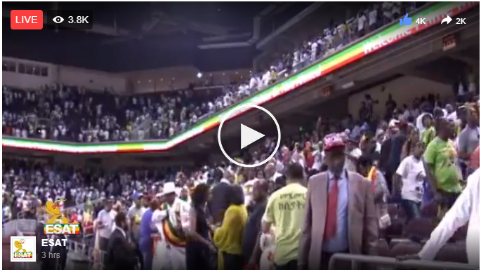 Prime Minister Dr Abiy Ahmed public meeting with Ethiopians Los Angeles, California July 29, 2018