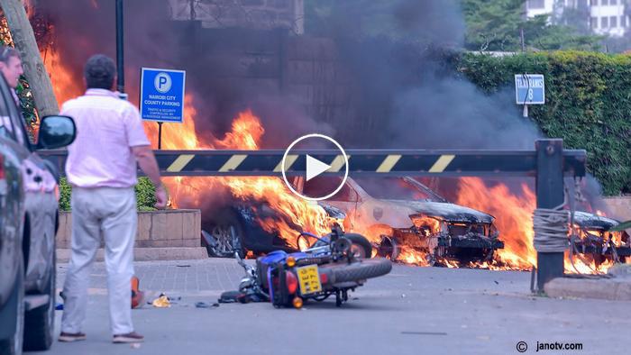NAIROBI 14 RIVERSIDE DUSIT D2 HOTEL 'TERRORISM' ATTACK