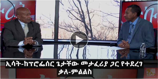 Esat- Minalachew Interview with Prof. Getachew Metaferia Feb 3. 2019